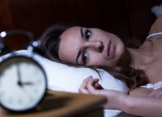 Women Suffering From Insomnia